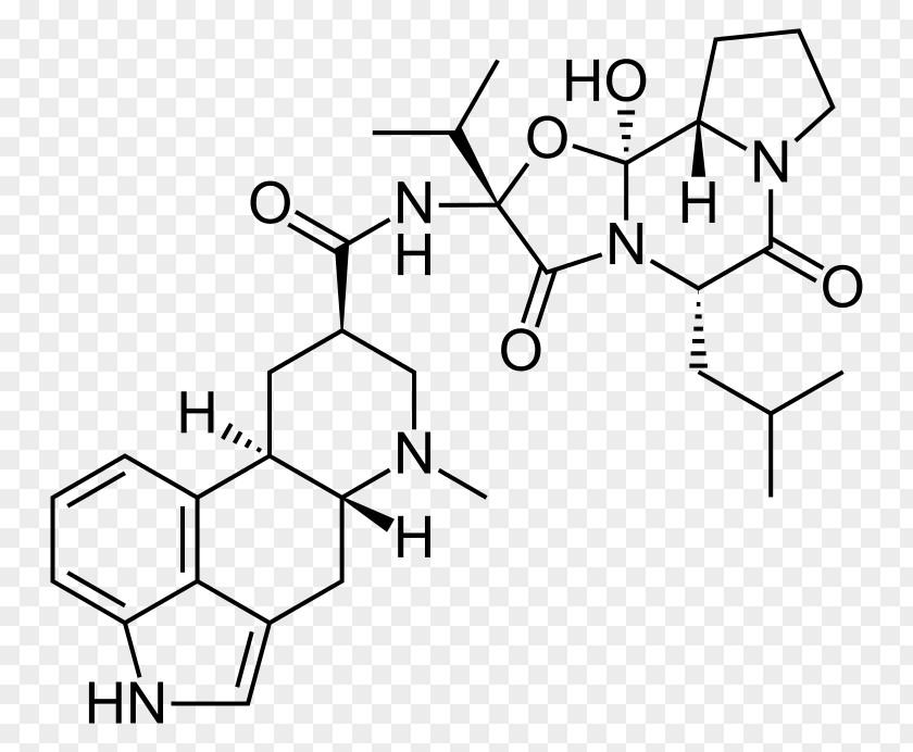Levodopa Ergoloid Indole Ergot Dihydroergocristine Chemical Substance PNG