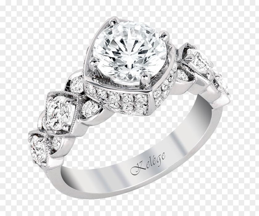 Creative Wedding Rings Ring Engagement Gold Sohn & McClure Jewelers PNG