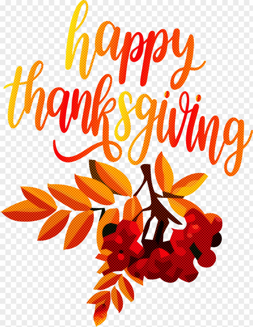 Happy Thanksgiving Autumn Fall PNG