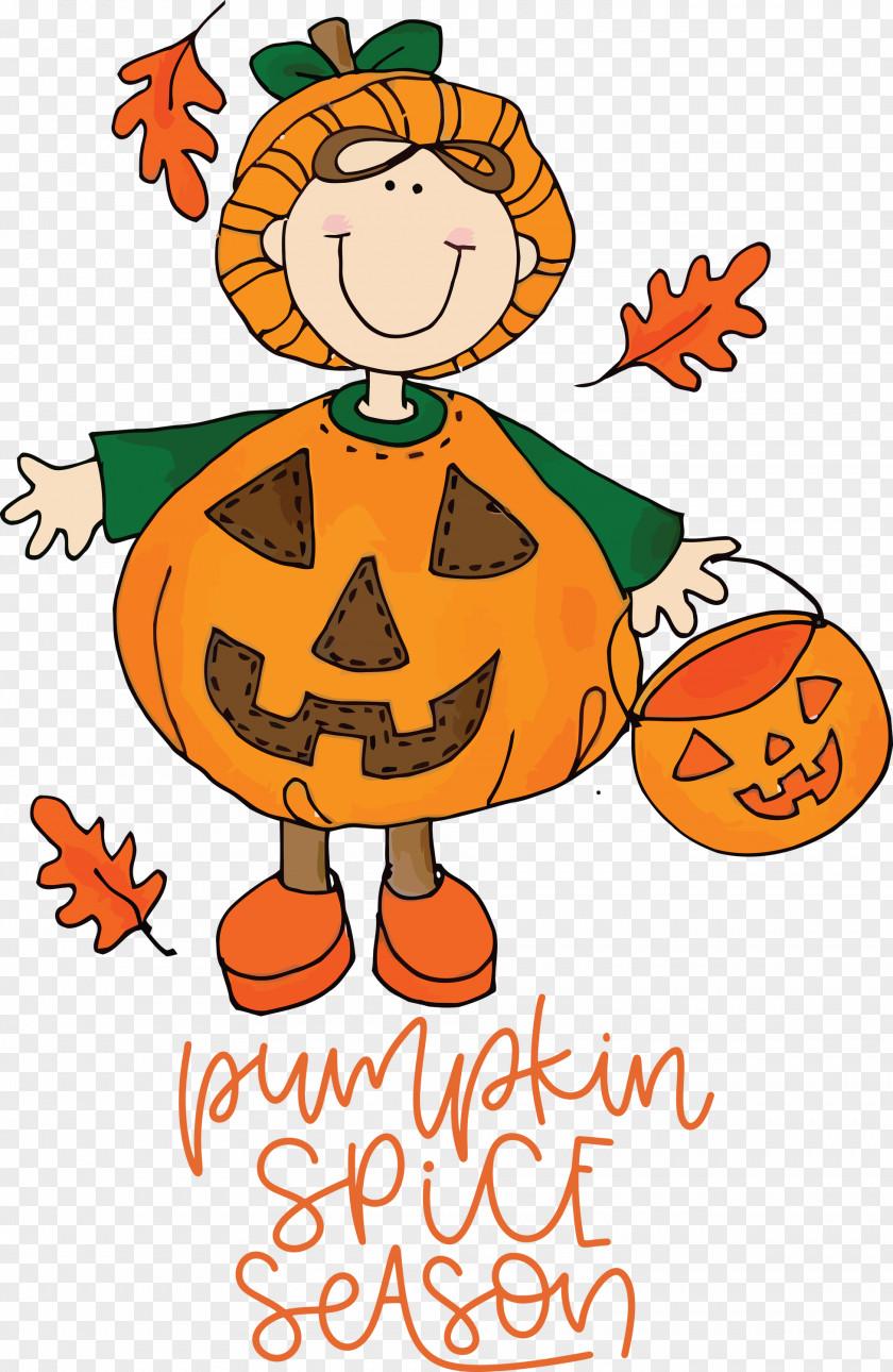 Autumn Pumpkin Spice Season Pumpkin PNG PNG