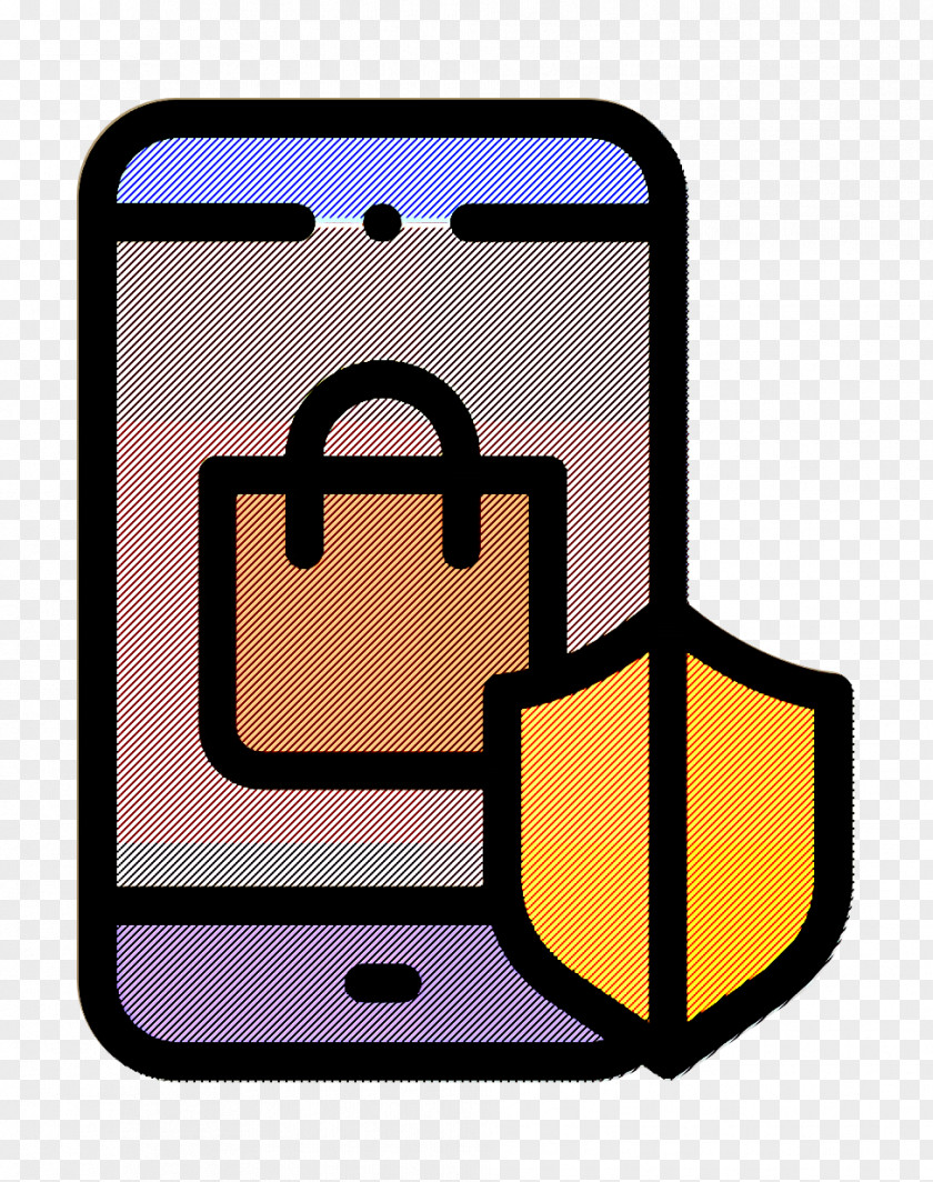 Online Shopping Icon Secure PNG