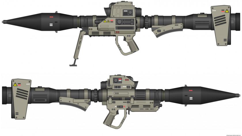 Grenade Launcher Weapon Firearm Science Fiction Rocket Rocket-propelled PNG