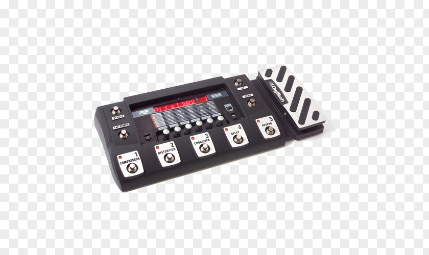 Electric Guitar DigiTech RP500 Effects Processors & Pedals Whammy PNG