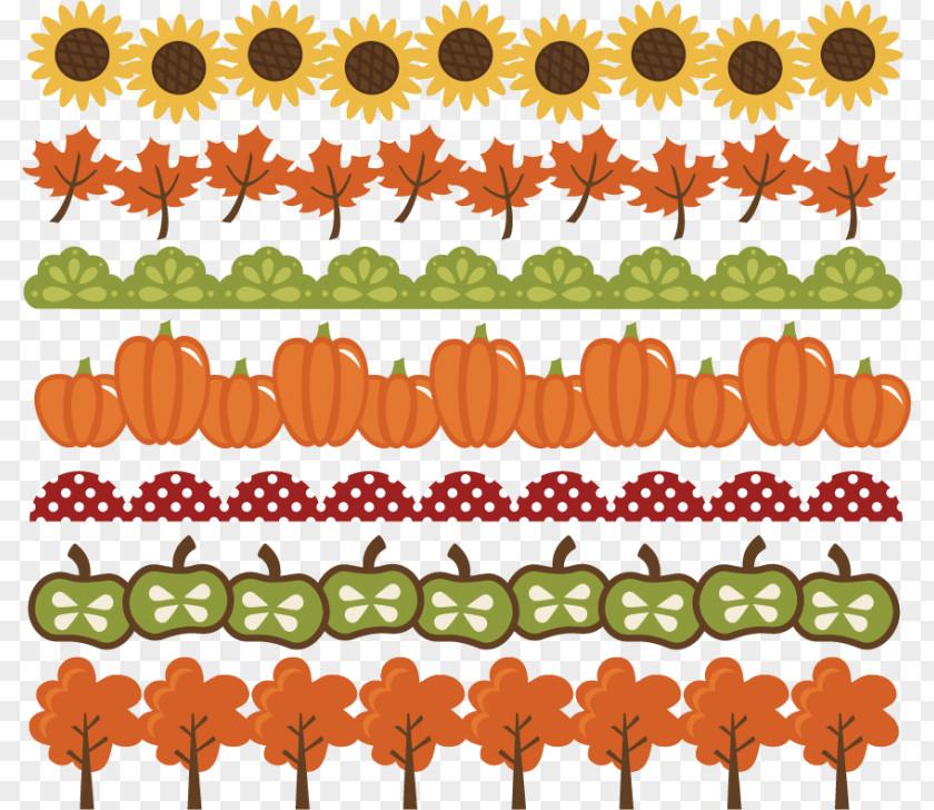 Fall Border Cliparts Candy Corn Pumpkin Autumn Cucurbita Pepo Clip Art PNG