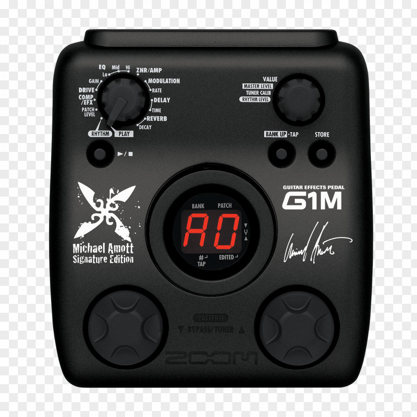 Electric Guitar Zoom Corporation Effects Processors & Pedals Guitarist PNG