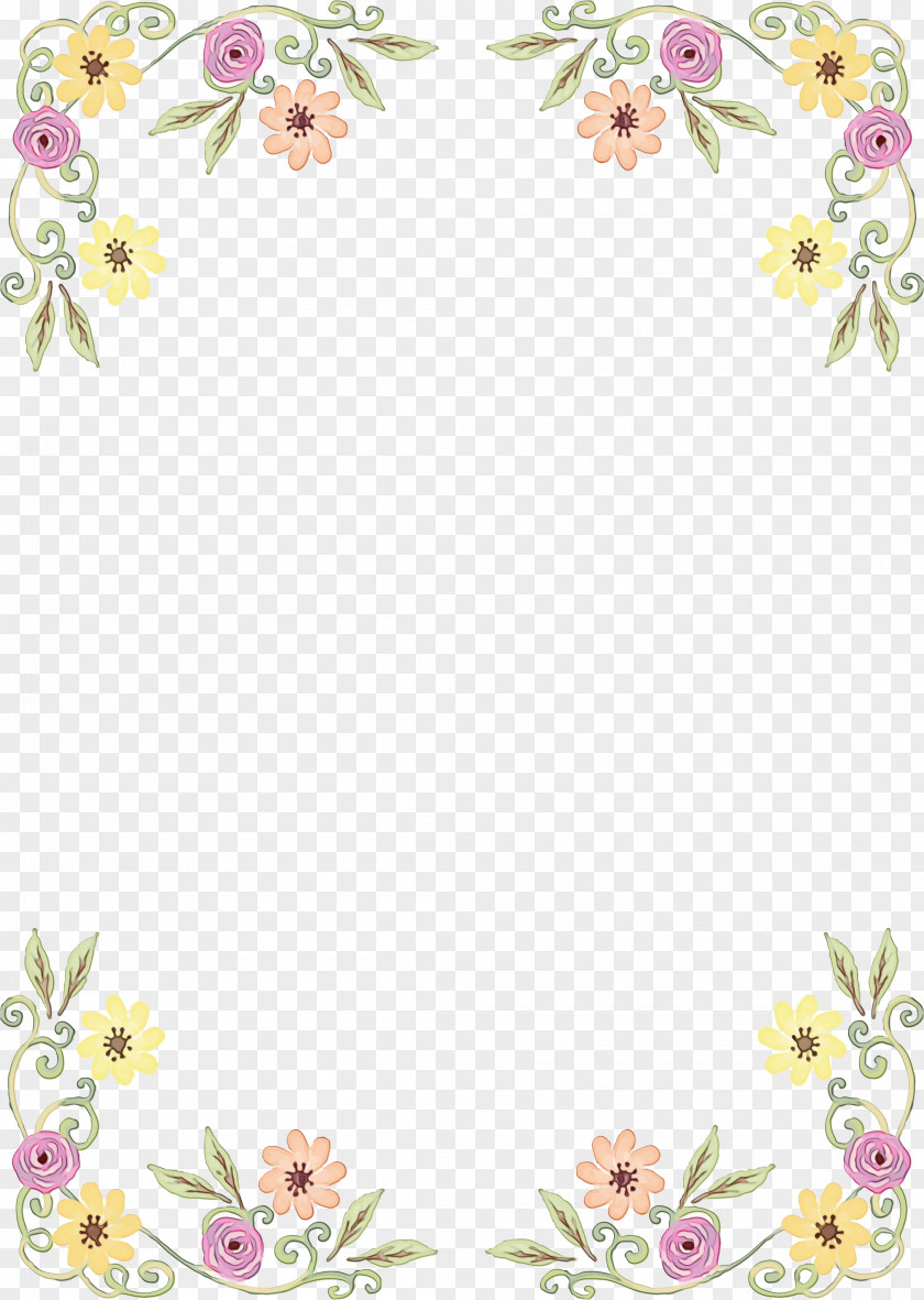 Interior Design Plant Watercolor Flower Background PNG