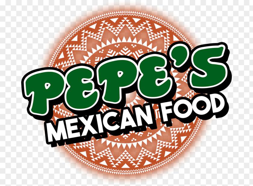 Mexican Food Cuisine Taco Pepe's Logo Burrito PNG