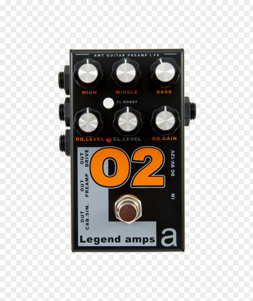 Guitar Amplifier Distortion Effects Processors & Pedals Preamplifier PNG