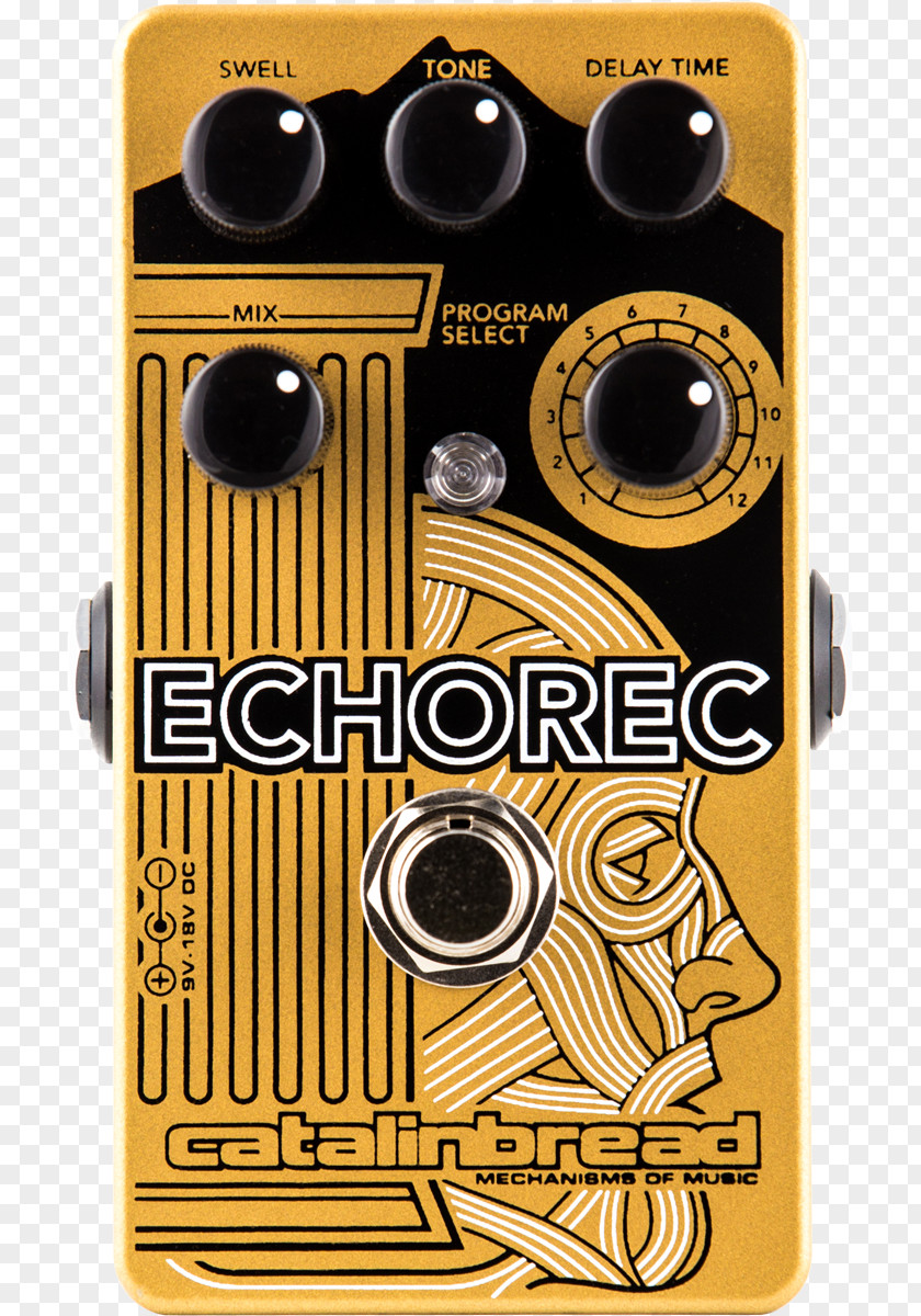 Hungry Ghost Bread Catalinbread Echorec Effects Processors & Pedals Binson Delay Belle Epoch PNG