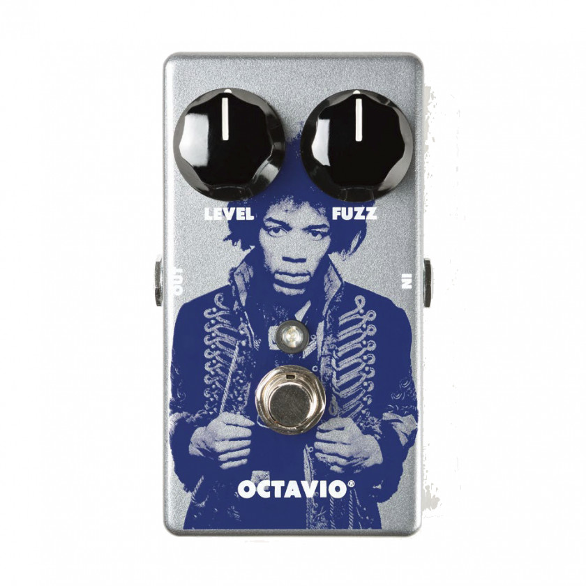 Electric Guitar Fuzzbox Distortion Effects Processors & Pedals Dunlop Manufacturing Octavia PNG