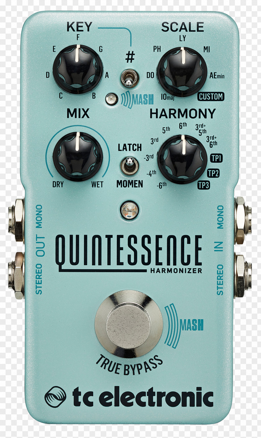 Guitar TC Electronic BonaFide Buffer Effects Processors & Pedals Harmony Delay PNG